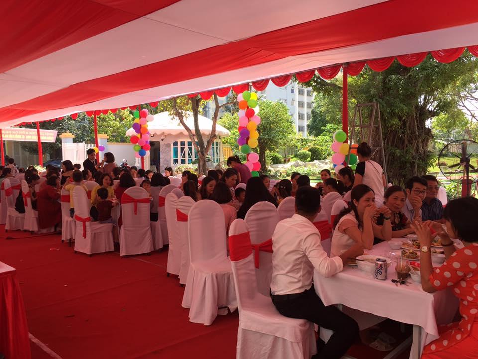 Tiệc lưu động Sen Thanh hân hạnh được tổ chức tiệc Buffet cho Quý thầy cô Trường mầm non Bình Minh – Thanh Hoá